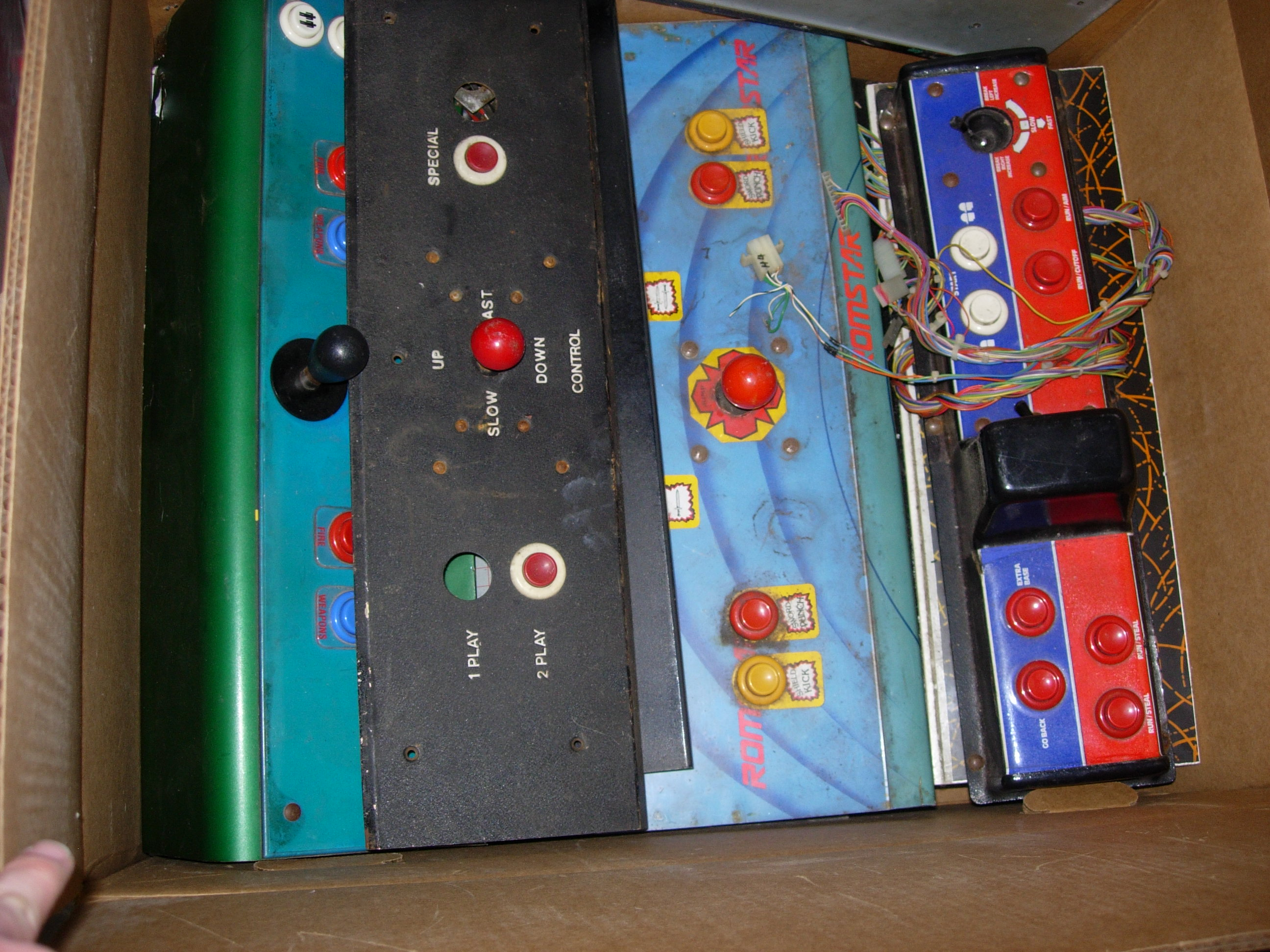 Mike's Arcade Parts Bulk Sale