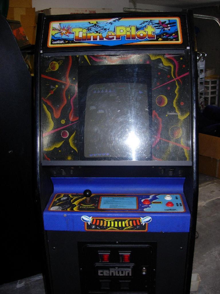 time pilot arcade game
